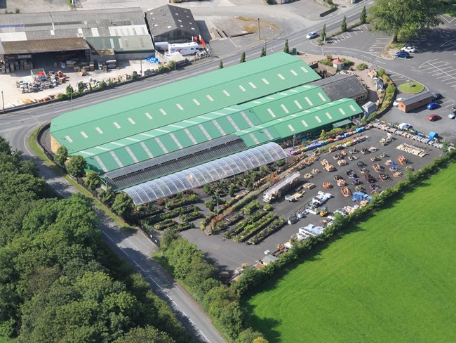 Shackletons Garden Centre >> Our Past Projects - Bailey Construction NW Limited