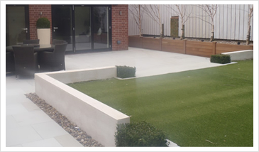 Building Services Clitheroe Landscaping Project