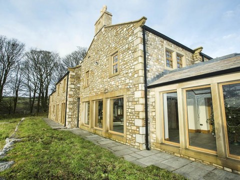 Exterior of Broomhill Lancashire builders project